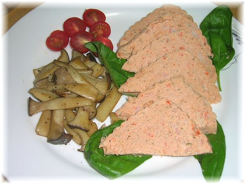 salmon and crayfish pate