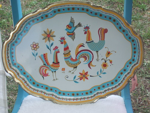 French cock tray