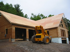 Roof sheathing