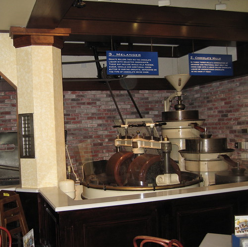 Ghirardelli chocolate making