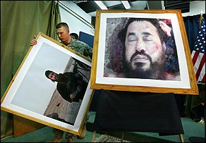 Al-Zarqawi Matted, Framed, Auctioned at Sotheby's