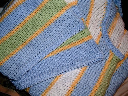 Handknit Sweater Close-Up