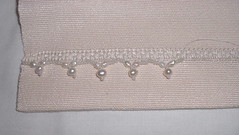 hemstitching with beads