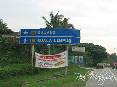 Road Sign To Kajang