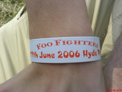 My Wristband For Foo Fighters Gig photo by rileyroxx
