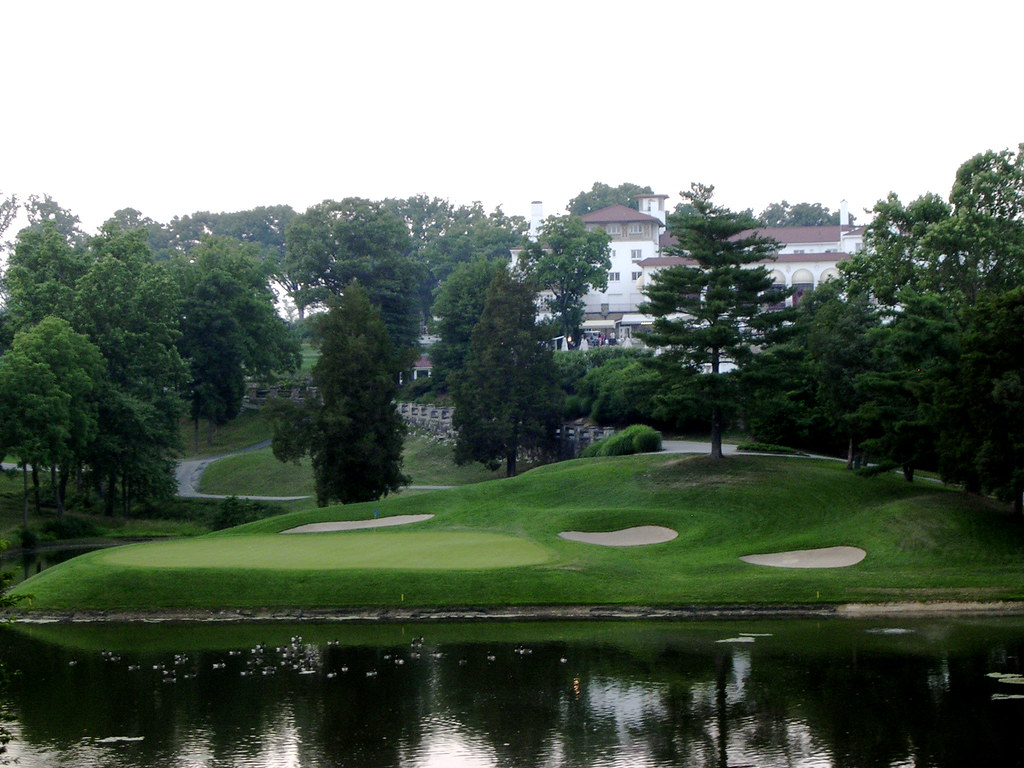 18 Tee Shot at Congressional Country Club