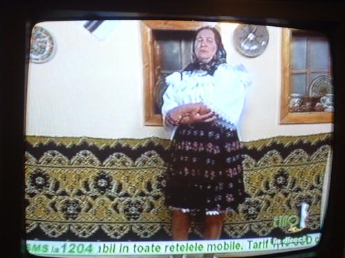 La Doña cantando en TV