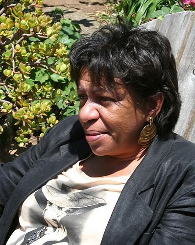 Sandie Bryant before calling on Saturday