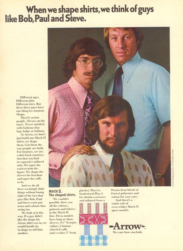 Vintage Ad #33 - Shirt Men
