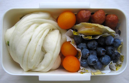 Steamed bun bento for toddler