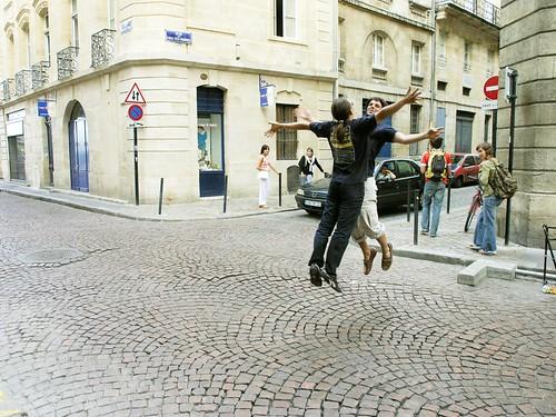 Performances improvisées dans l'espace public