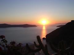 Sunset from Firastephani