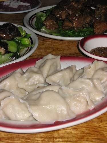 Dumplings at Wang's Fast Food