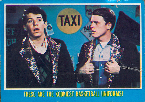 Happy Days card: Potsie and Ricky