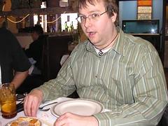 2/11/06: Tex's birthday at Spaghetti Warehouse