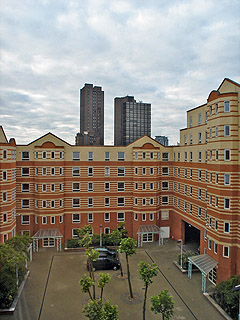 ロンドン大学キングスカレッジ/Stamford Street Apartments, King's College London