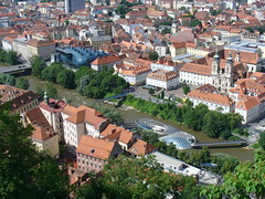 Architecture d'avant-garde à Graz