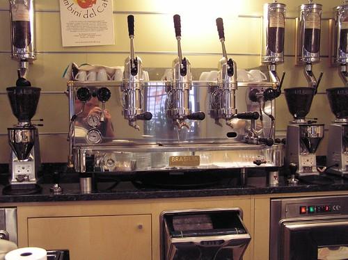 Brasilia Lever Machine, Caffe del Doge, Rialto