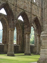 A view from inside Tintern