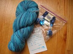 Hand-dyed Sock Yarn Colorswap