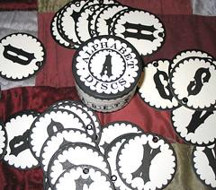 alphabet disks