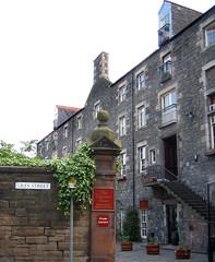 The Vintners Rooms Restaurant in Edinburgh's Leith area