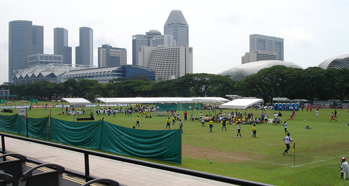 Cricket ground in Singapore