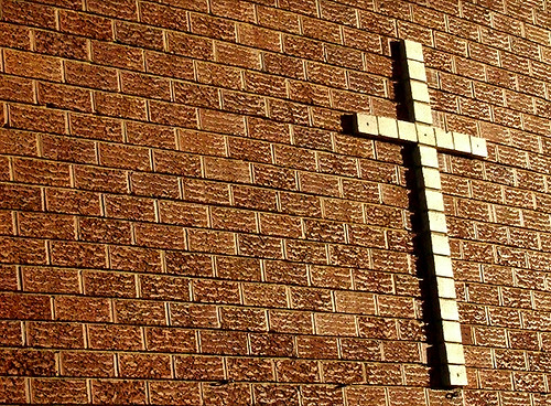 bricks and crosses