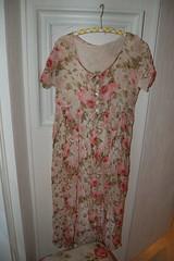 A rosy dress