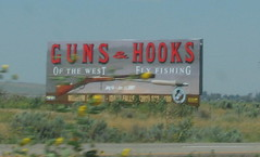 Guns billboard
