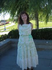 Long goodbye dress