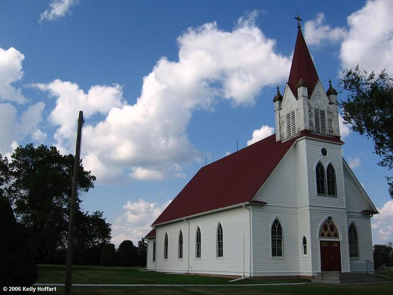 Stockholm Lutheran Church by Kelly Hoffart