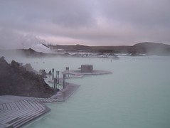 The Steamy Blue Lagoon