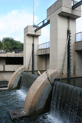 San Antonio River Flood Control Dam