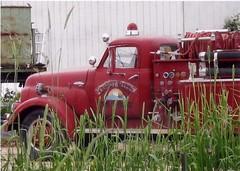 Sonoma County fire truck