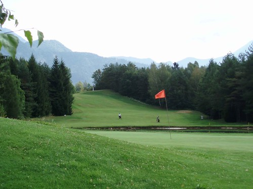 The Golf Court near Bled