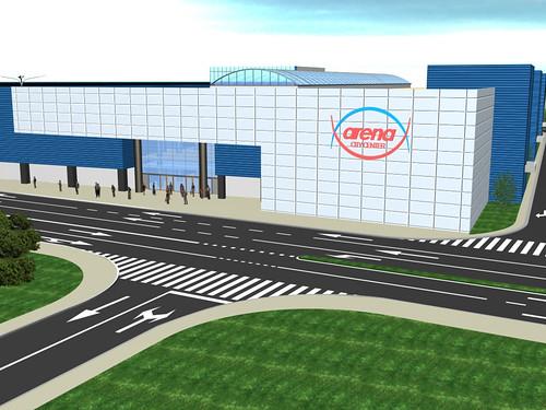 Exterior Mall Arena Bacau
