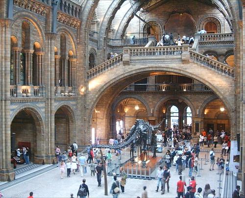 Entrada do Museo de Historia Natural