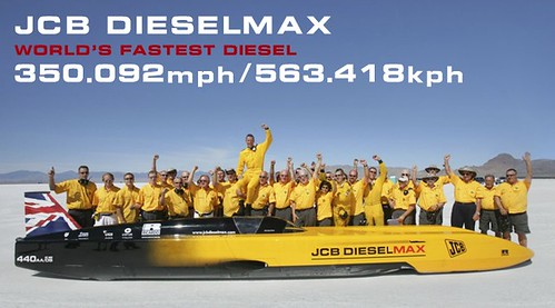 JCB DieselMAX record photo