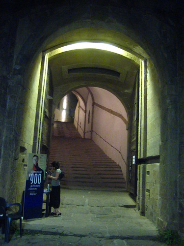 Entrance to Forte Belvedere