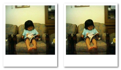 reading a book (3D)