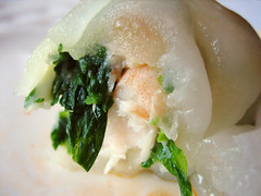 snow pea leaf dumpling