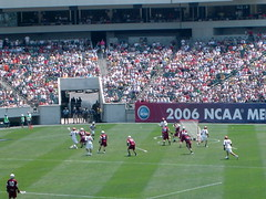 UMass vs. UVA: first goal!
