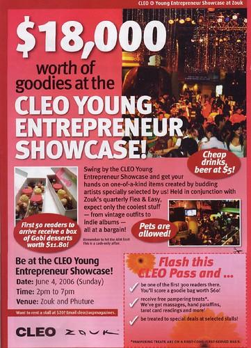 Cleo Entrepreneur