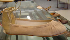 repetto nude flat