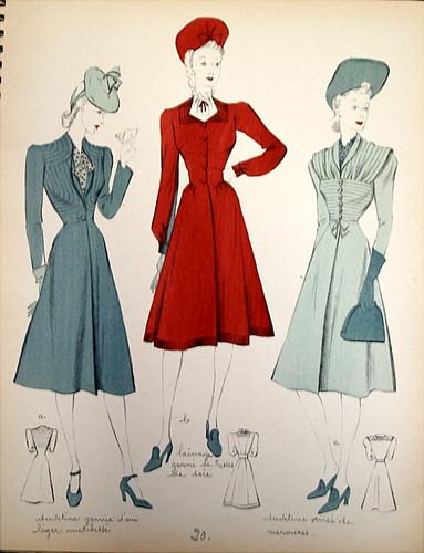 Fashion Flashback Wwii Women S Fashion: 1940's WW2 Fashion - Large Image Warning