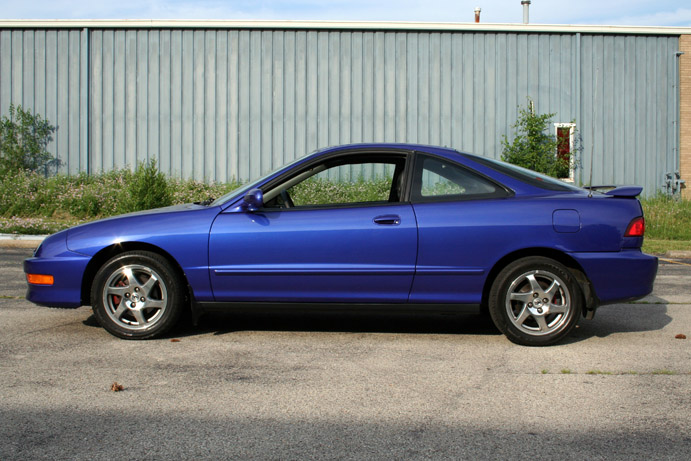 98 Integra Gsr Super Sonic Blue Pearl Cincy Street Scene