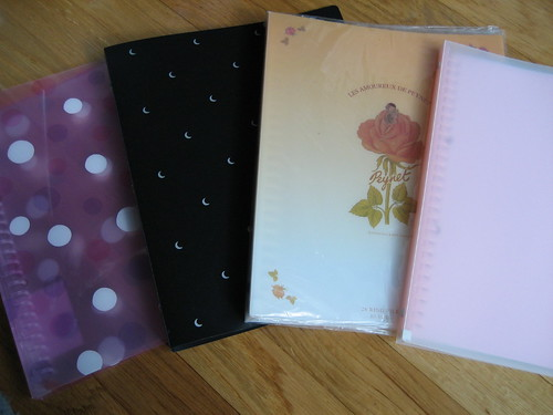 New Knitting notebooks!