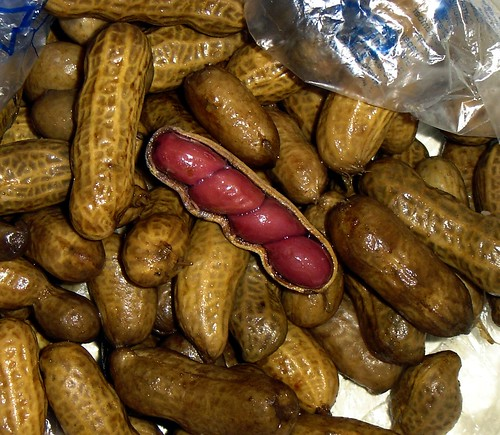 boiled pnuts