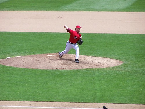 Hill pitching . . .